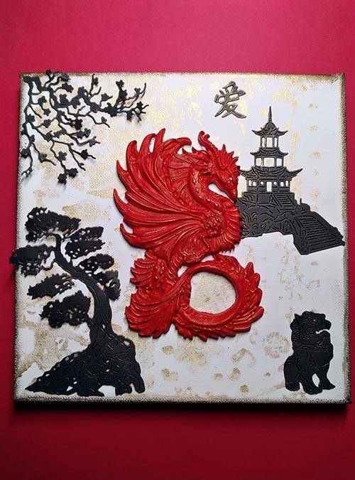 A1Creatives Penny Jayne Red Dragon